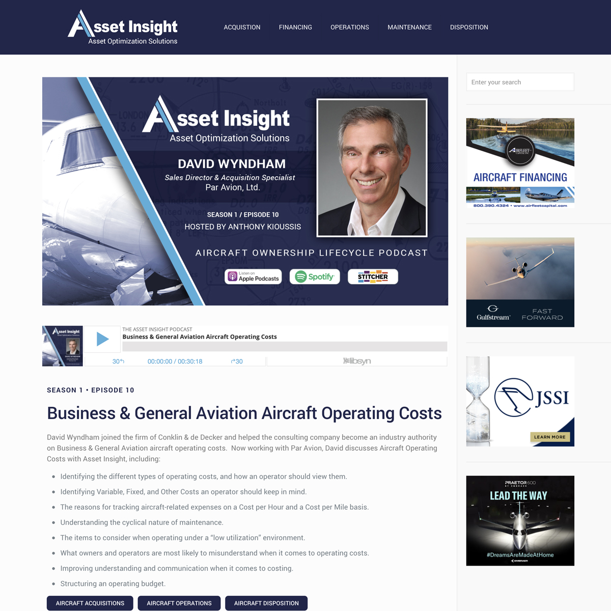 Asset Insight Podcast