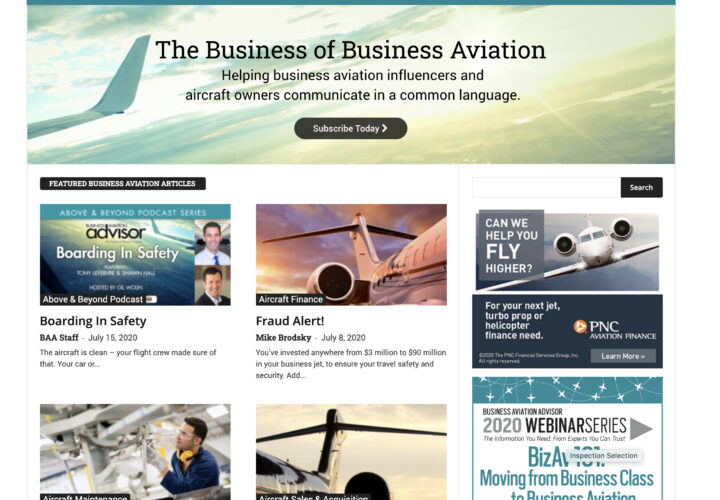 Business Aviation Advisor
