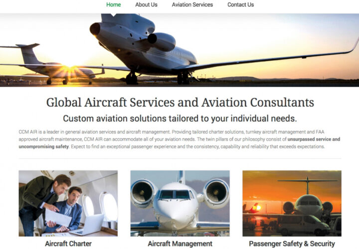 CCM Air - Homepage